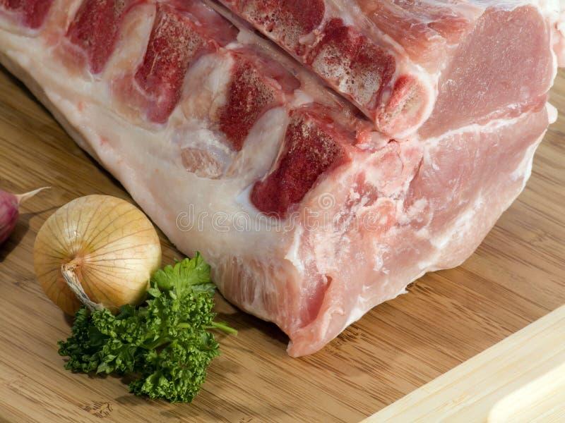 肉猪肉 免版税图库摄影