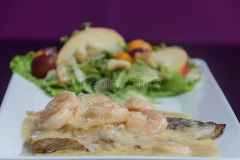 肉用虾 免版税图库摄影