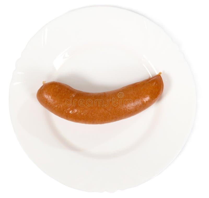 从肉的浓香肠 免版税库存图片