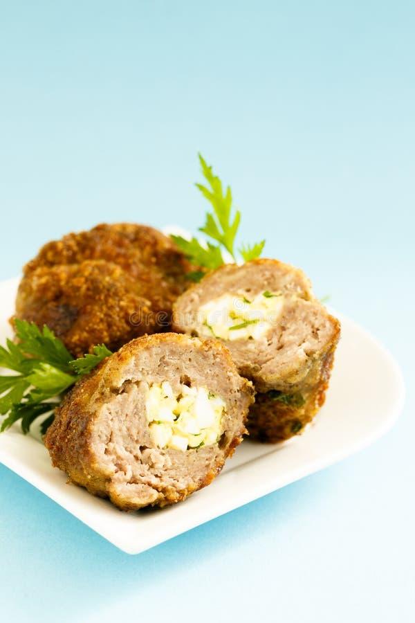 肉肉卷 免版税库存图片