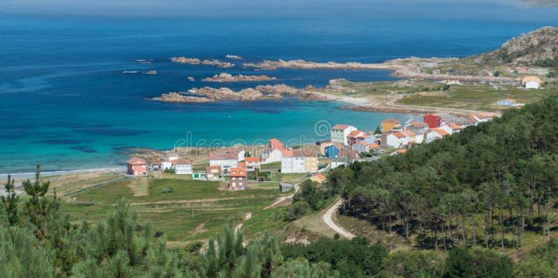 肋前缘在西班牙北部的da Morte, 免版税库存图片