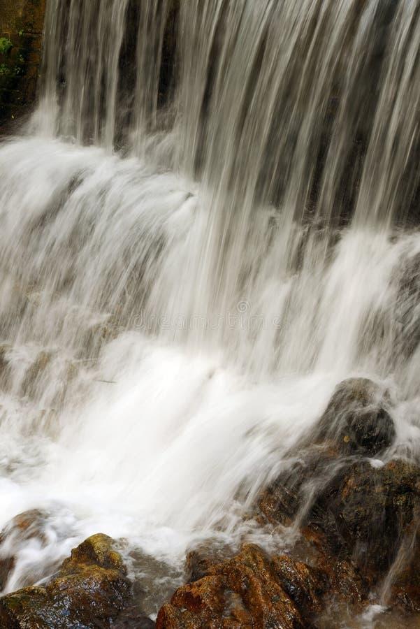 肋前缘拉巴斯rica瀑布 免版税库存图片