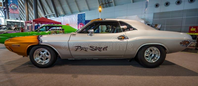 肌肉汽车推托挑战者赞成Street, 1970年 图库摄影