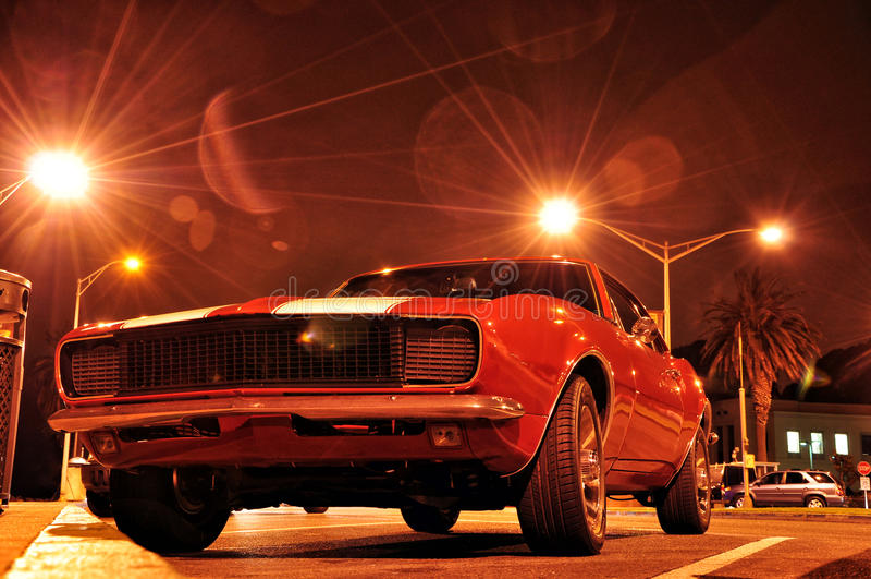肌肉汽车 免版税图库摄影