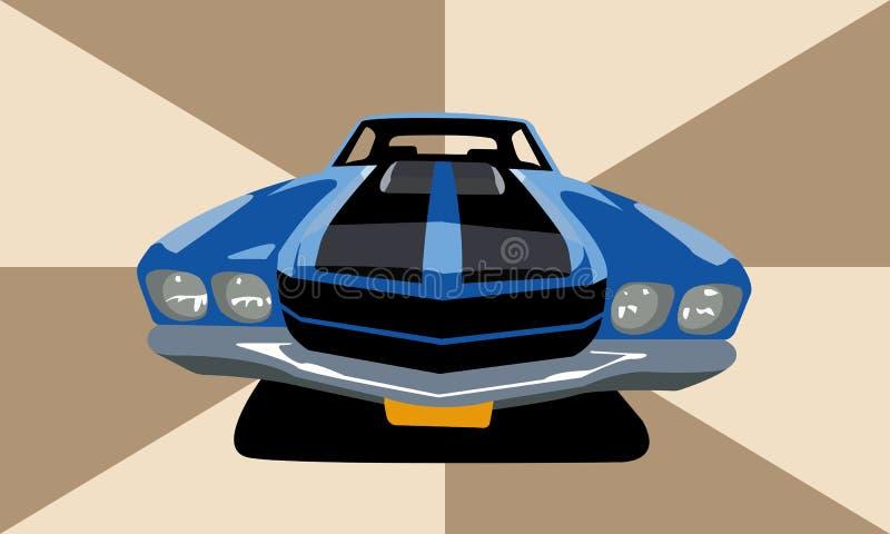 肌肉汽车 图库摄影