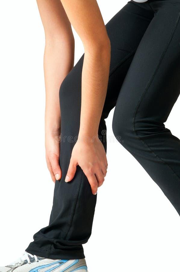 肌肉痛运行 免版税库存图片