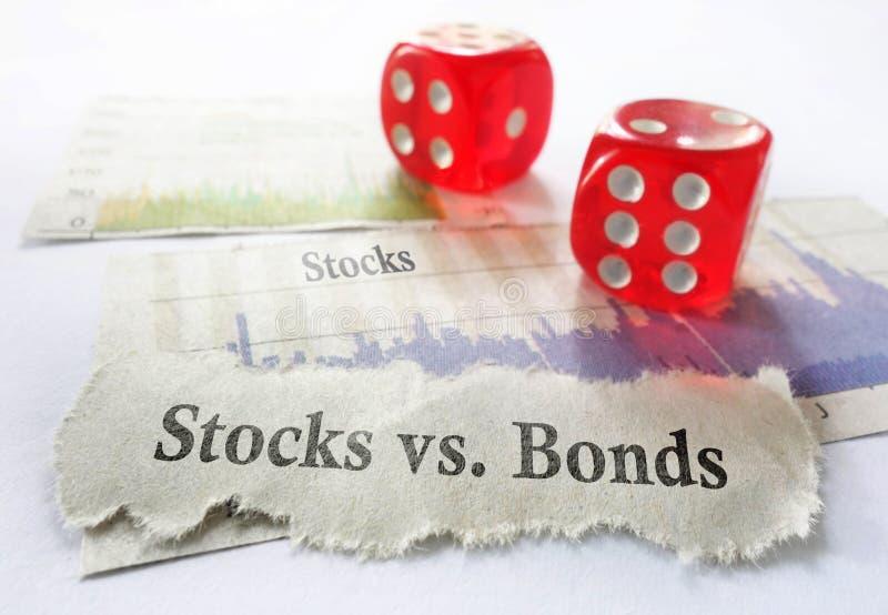 股票或债券 免版税库存图片