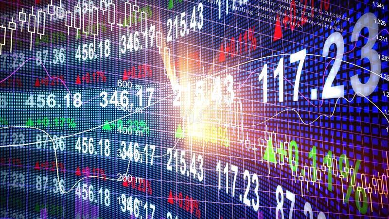 股票 库存例证