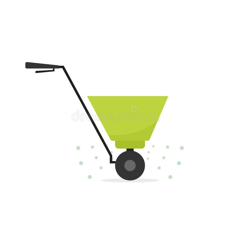 肥料分布器象 向量例证
