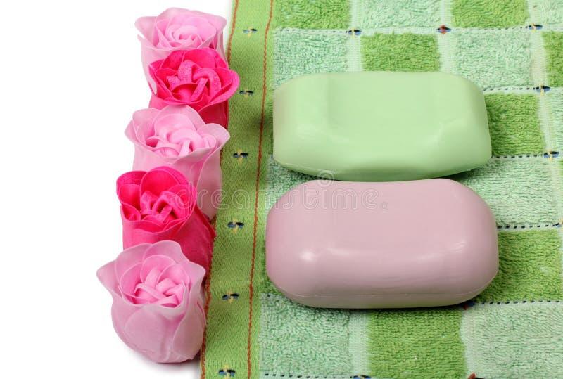 肥皂上升了 免版税库存照片