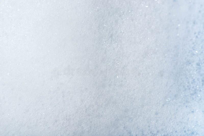 肥皂泡沫背景纹理 免版税库存图片