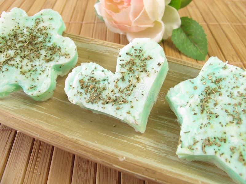 肥皂用柠檬马鞭草属植物 图库摄影