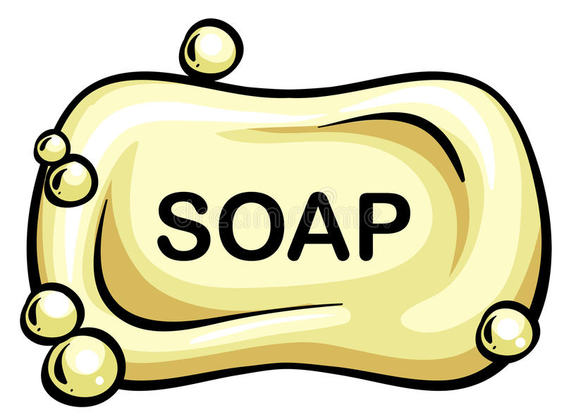 肥皂 皇族释放例证