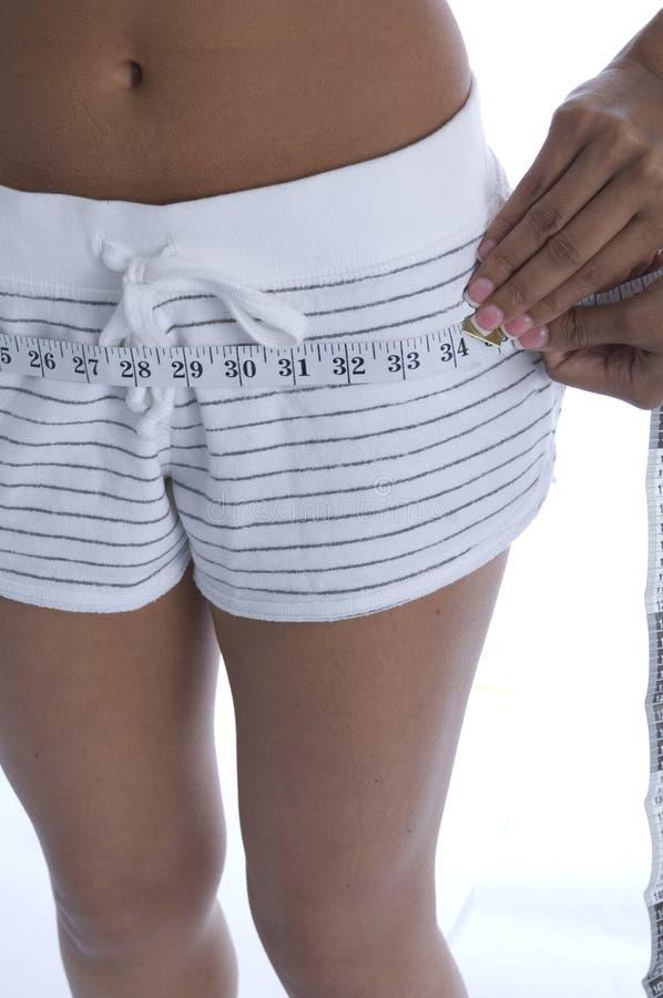 肥胖评定 库存图片