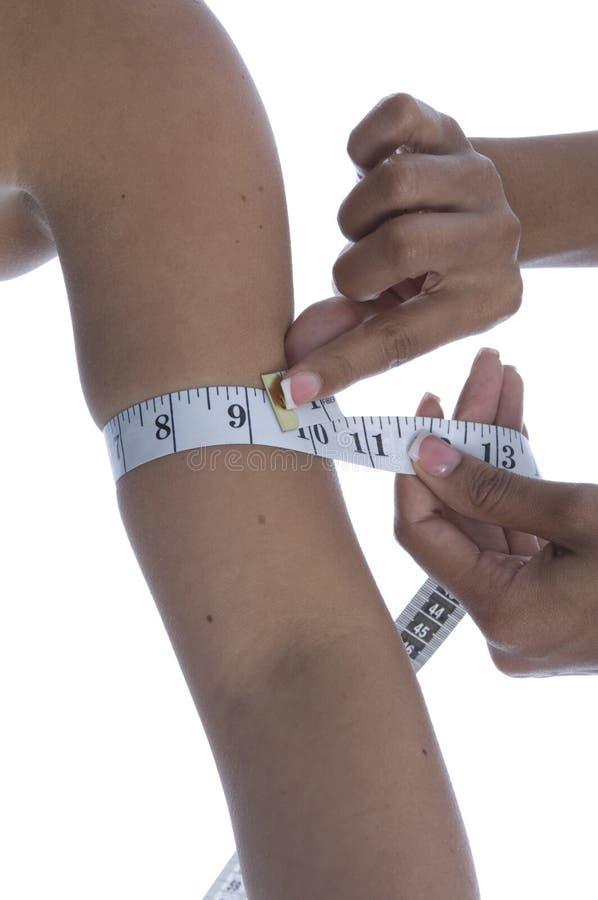 肥胖评定 免版税库存图片