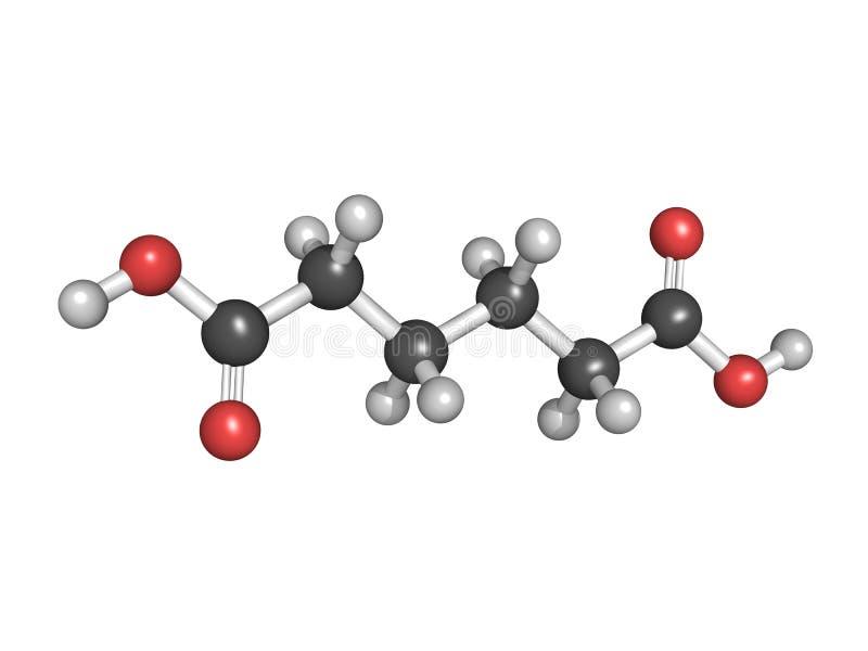 肥酸,尼龙(多醯胺)积木 皇族释放例证
