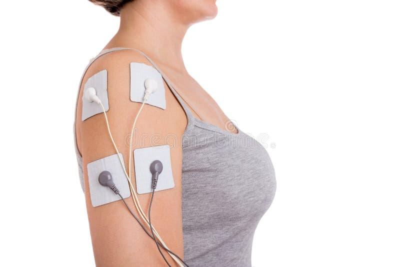 肩膀腱炎的治疗 免版税库存图片