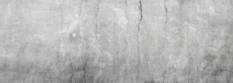 肮脏的灰色混凝土墙 库存照片