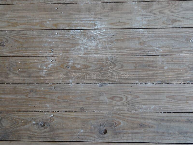 肮脏的装饰甲板 库存照片