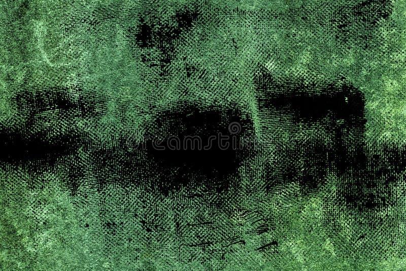 肮脏的超难看的东西绿色具体水泥纹理,石表面,岩石背景 免版税库存照片