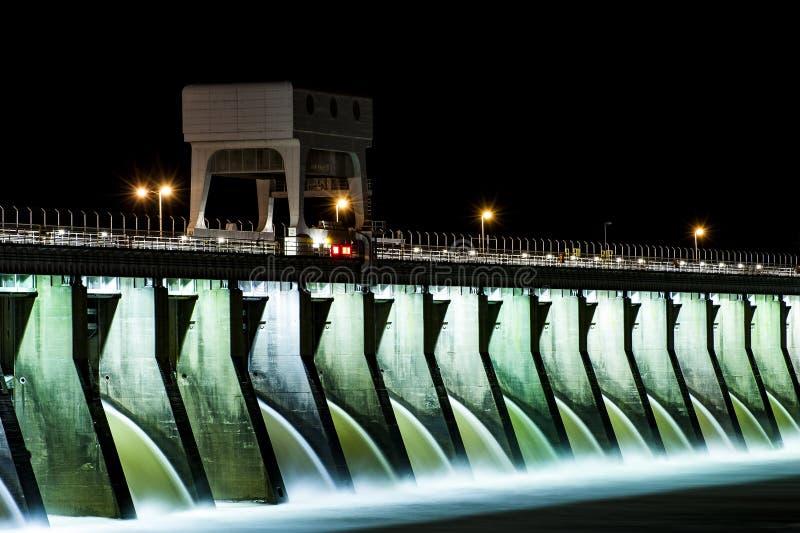 肯塔基水坝- Kentucky湖,肯塔基 免版税库存图片