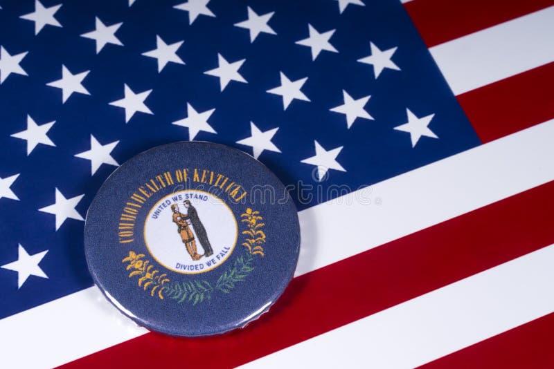 肯塔基的状态在美国 免版税图库摄影