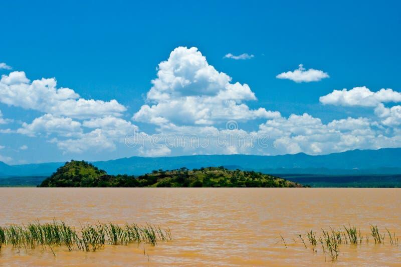 肯尼亚湖横向维多利亚 免版税库存图片
