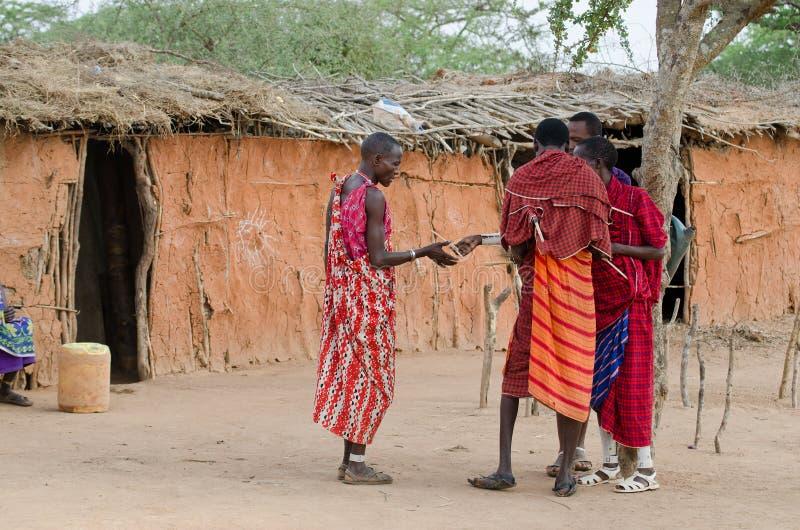 肯尼亚马塞语 免版税库存图片