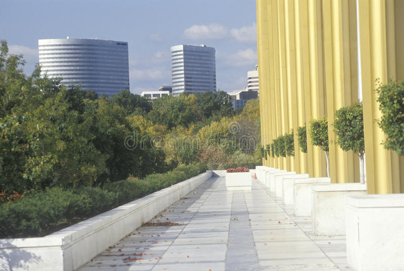 肯尼迪中心,华盛顿特区的列表演艺术 C 免版税库存照片