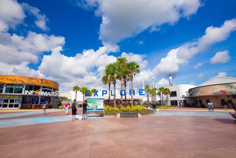 肯尼迪航天中心 卡纳维尔角,佛罗里达,美国 图库摄影