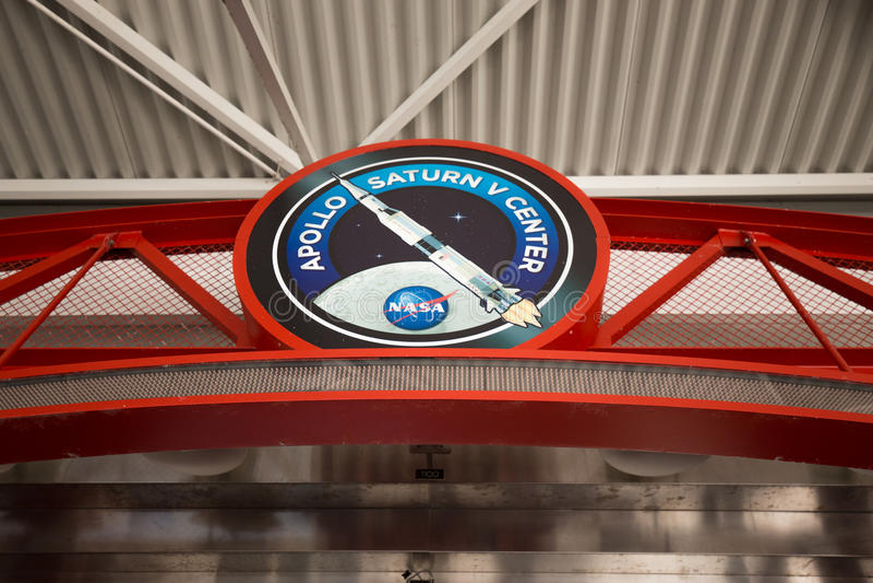 肯尼迪航天中心 卡纳维尔角,佛罗里达,美国 免版税库存图片