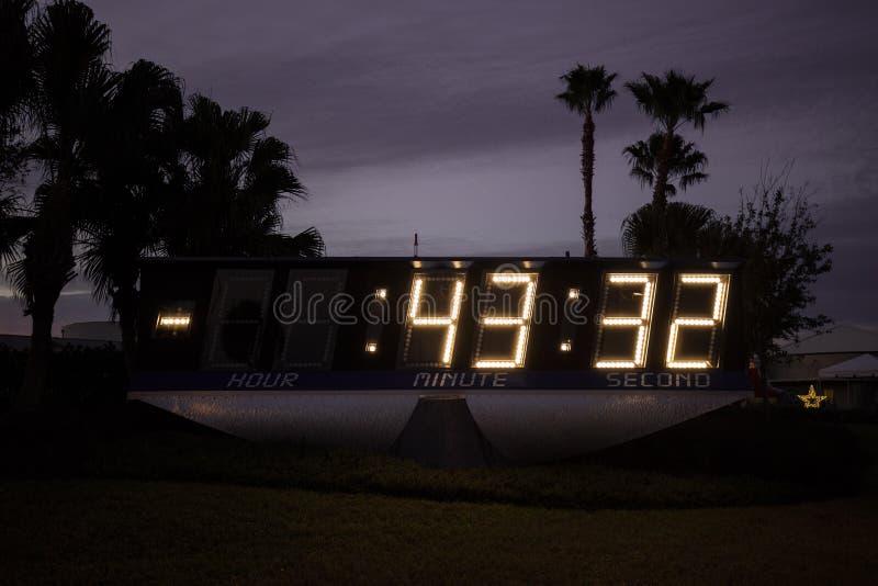 肯尼迪航天中心 卡纳维尔角,佛罗里达,美国 免版税图库摄影