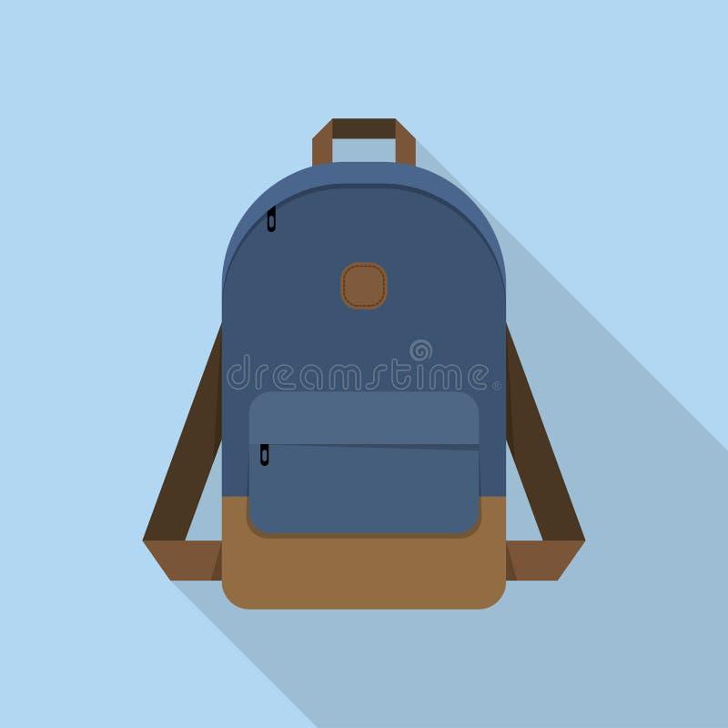 背包,书包 向量例证