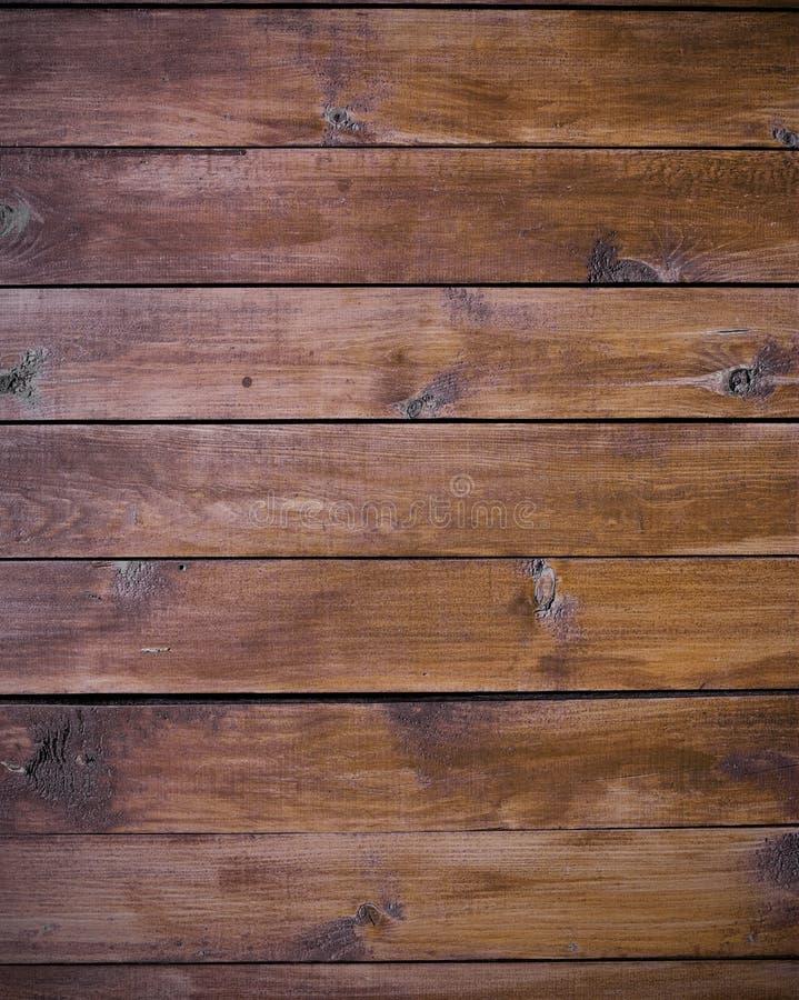 背景上棕色构造木头 库存照片
