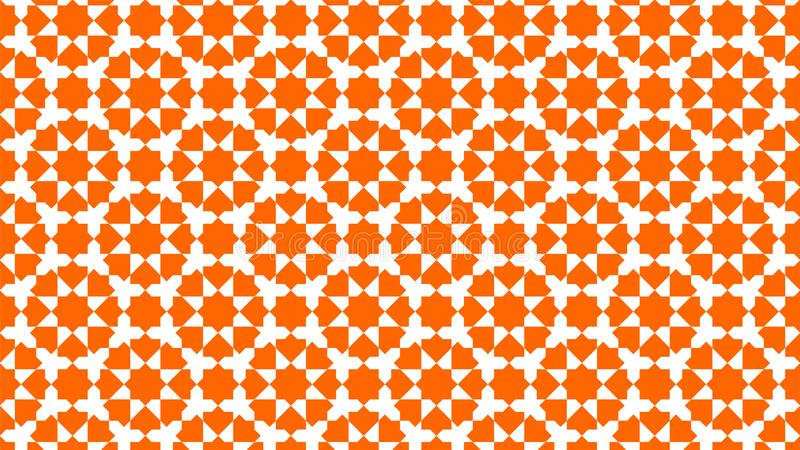 背景与和谐交错的形状、美好的颜色和有吸引力的颜色的美丽的伊斯兰教的装饰 库存照片