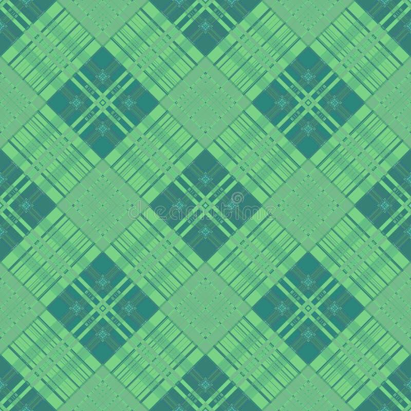 背景与无缝的摘要,传统条纹的格子呢样式 免版税库存照片