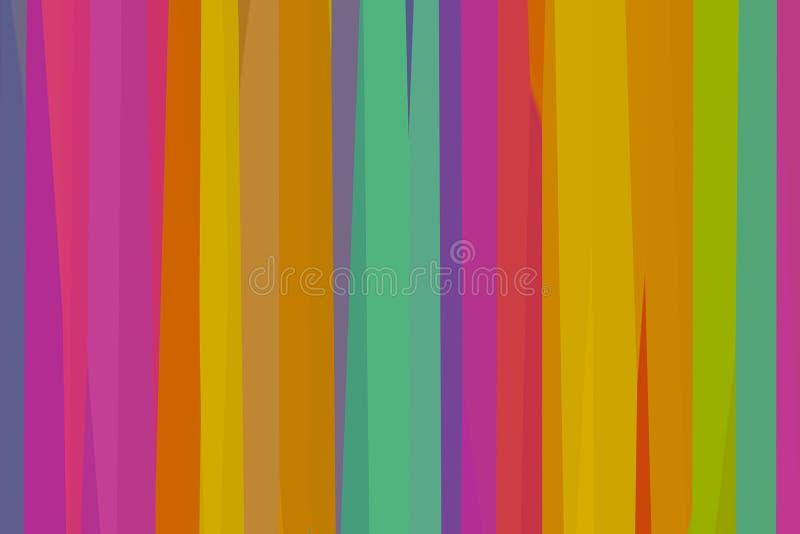背景五颜六色的淡色绯红色淡紫色盘区镶边天蓝色的黄色基地五颜六色的艺术和秘密创造性 向量例证