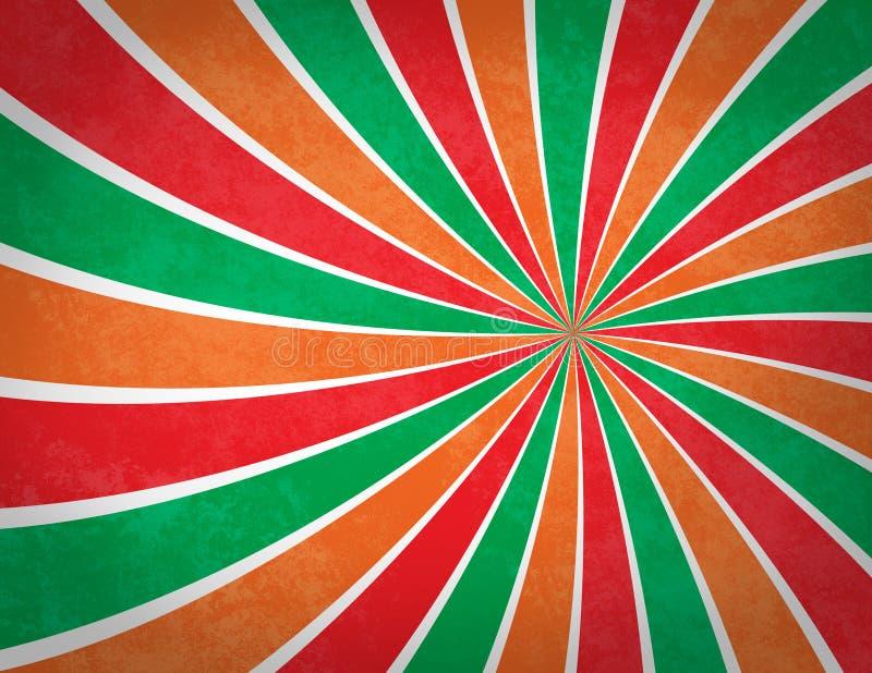 背景五颜六色的漩涡 皇族释放例证
