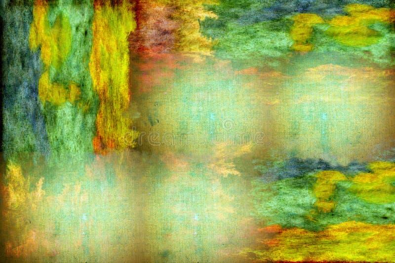 背景五颜六色的grunge 皇族释放例证