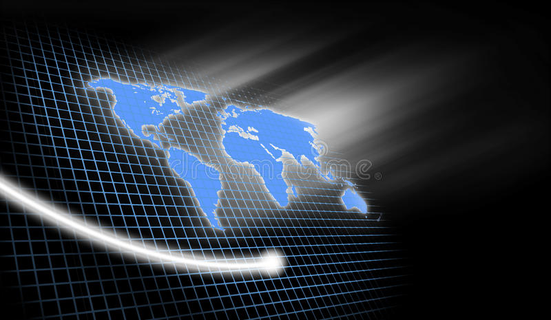 背景企业世界 向量例证