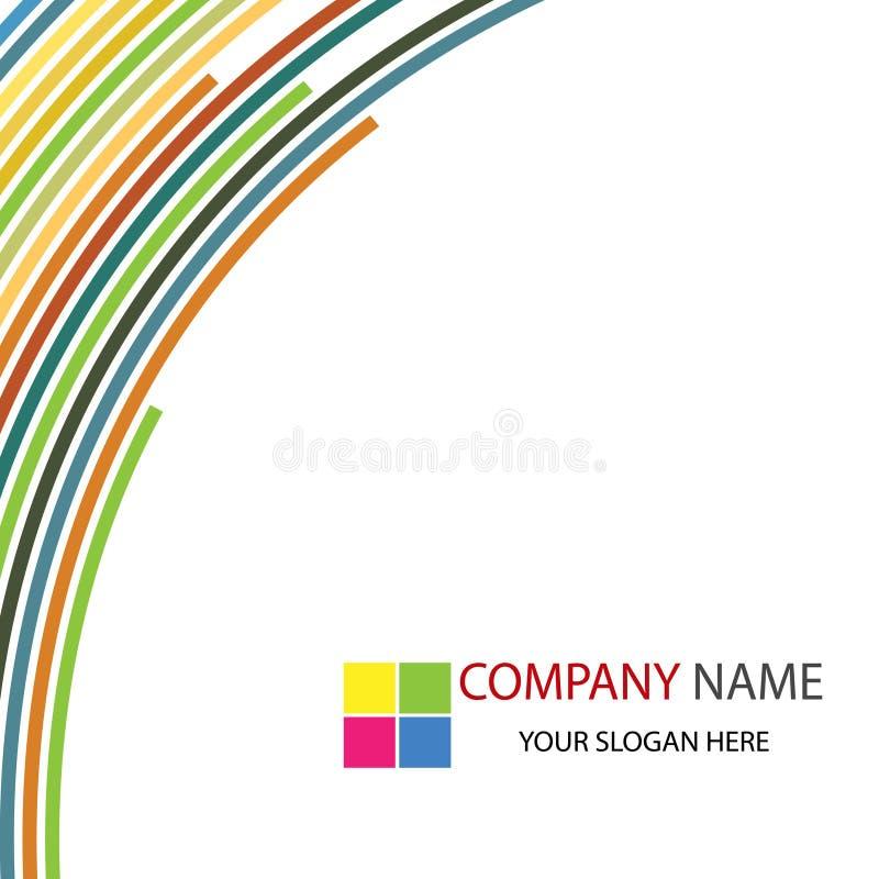 背景企业总公司模板 库存图片