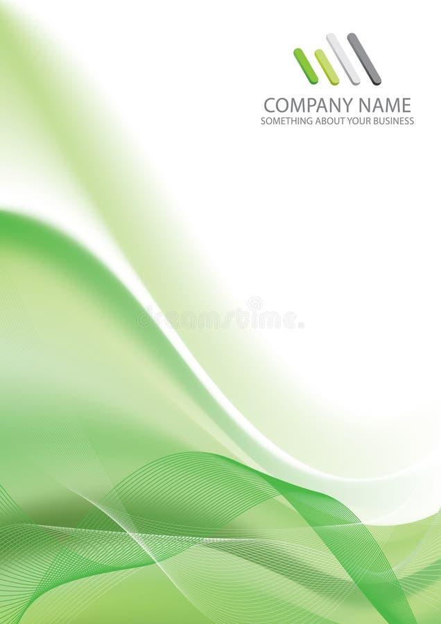 背景企业总公司模板 库存例证