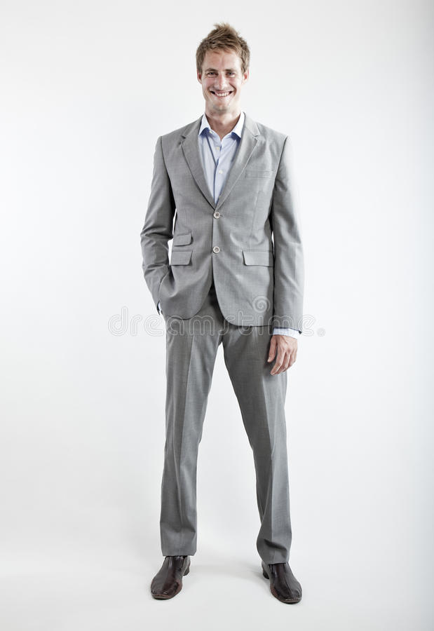 背景企业灰色人诉讼白色 库存照片