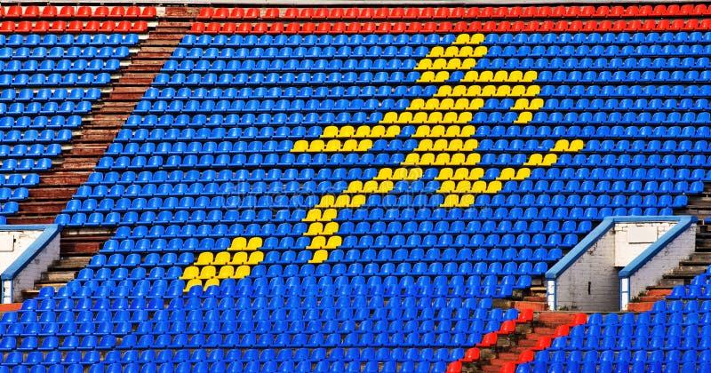 背景体育运动体育场 免版税图库摄影