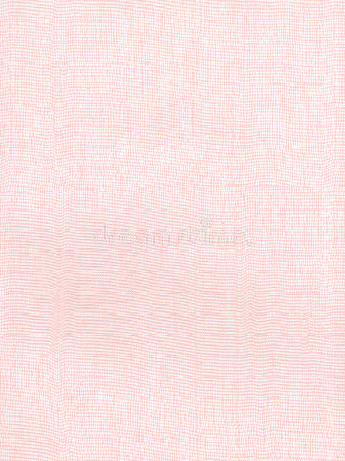 背景作用亚麻布粉红色 库存图片