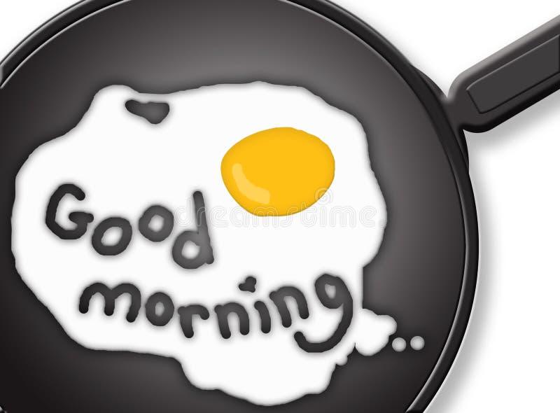 背景例证omlet 免版税图库摄影