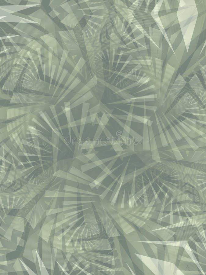 背景冷却绿色纹理 向量例证