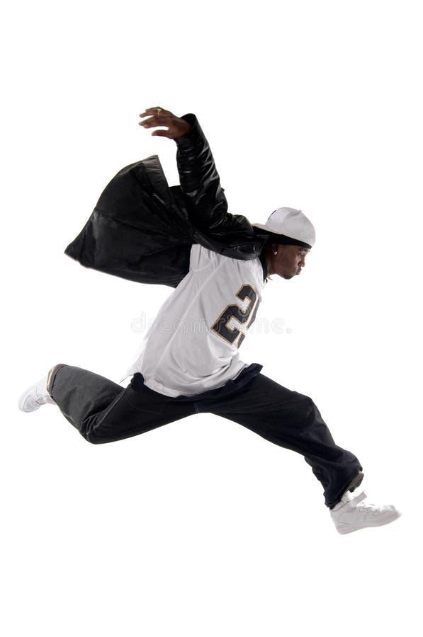 背景冷静Hip Hop人空白年轻人 免版税库存照片