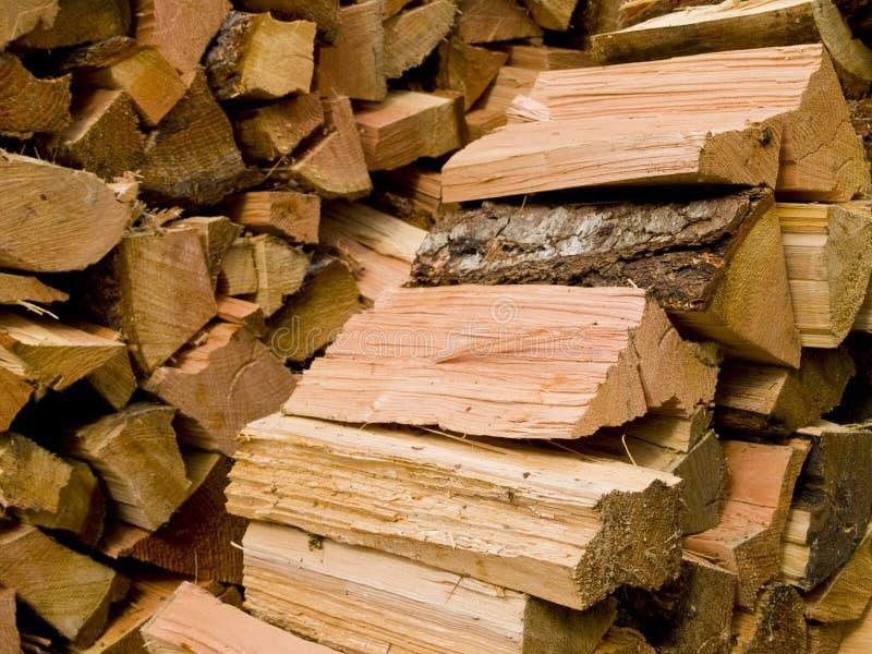 背景分开的木头 免版税库存照片