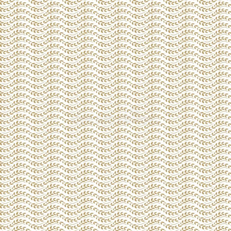 背景创造性的通知麦子 向量例证